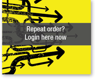 Repeat order? Login here now
